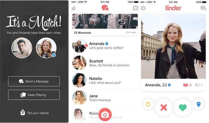 Sistema de match do Tinder
