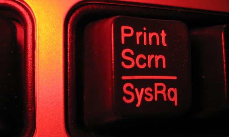 Tirando Print no PC